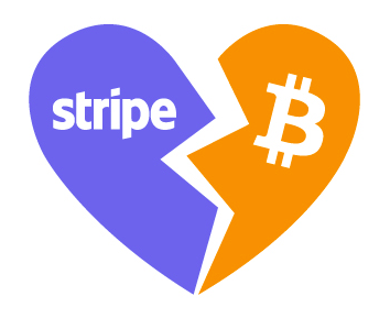 Stripe ending Bitcoin support